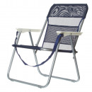 wholesale Garden Furniture: FOLDABLE BEACH  CHAIR WITH STEEL TUBE AND TEXTILINE