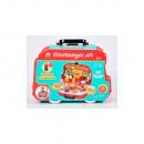 wholesale Suitcases & Trolleys: Hamburger Set With Suitcase