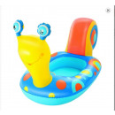 Bestway aufblasbarer Pool Toy Snail Boat Float 341