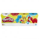 Play-Doh, confezione da 4, colori classici Hasbro