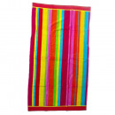 Beach Towel Pink Stripes