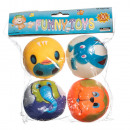 7818 Elastic Balls Set Colorful Algino