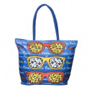 Polyester Beach  Bag With Zip and Pocket