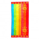 Beach Towel Two Suns Lines