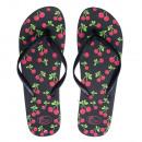 Großhandel Schuhe: Flip Flop Damen Cherry 36-41 White Ocean® 21269