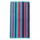 Beach Towel Red Stripes
