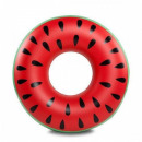 Inflatable Watermelon Swim Ring With Handle Ø120cm