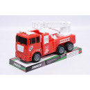 Friction Fire  Truck With Expandable Ladder