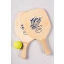 groothandel Ballen & clubs: Dolpin Design met tennisbal in net