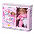 Baby Doll With Bed and Feeding Equipment