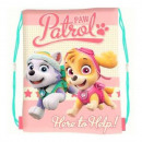 wholesale Bags: Backpack - Dog Paw Patrol pink A4 children's b
