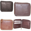 wholesale Wallets: NC38 Natural Leather Men's Wallet Elegant