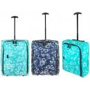 nagyker Koffer és Trolley: TB05 Print utazási bőrönd a kerekeken szuper könny