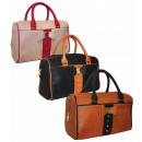 Le donne borsa di prua con nastro A4 Borse