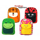 wholesale Backpacks: Backpack Children  Wildlife Friends Pattern Ladybug