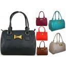 FB41 Damen Handtasche Koffer mit Schleife