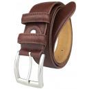 wholesale Belts: Men's belt JOHN GOTTI Light Brown -80%