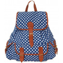 wholesale Backpacks: Beautiful school  backpack for city students. Dots.
