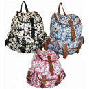 wholesale Backpacks: CB151 Daisy Ladies Backpack A4 HIT