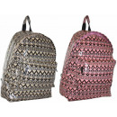 wholesale Backpacks: CB162 Aztec  lacquered Backpack A4 HIT