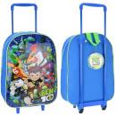 Ben 10 Cartoon Network suitcase on wheels