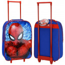 Suitcase on wheels Spider-Man Navy / Red
