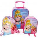 grossiste Fournitures scolaires: Set: valise + sac à dos + sac 3 en 1