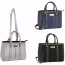 Großhandel Taschen & Reiseartikel: Handtasche Damentasche + Gürtel FB271