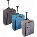 wholesale Suitcases & Trolleys: Travel suitcase hand luggageTB05 Tweed suitcases