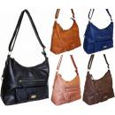 Großhandel Taschen & Reiseartikel: Handtasche Tasche 2421 neue Farben