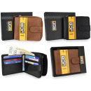 Elegant men's RFID leather wallet JCB43