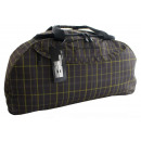 wholesale Travel and Sports Bags: TB09 Big Bag - Travel suitcase Checked gray