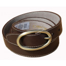 wholesale Belts: Women's Strap Belts CHEROKEE Brown