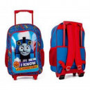 Tomek Train Suitcase / Backpack with wheels for ch