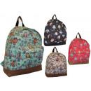 groothandel Rugzakken: CB162 OWL NEW  Backpack School Vrouwen HIT