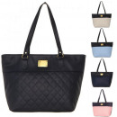 Großhandel Handtaschen: Modische gesteppte Umhängetasche Shopper Bag