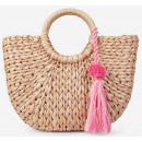 Beautiful straw handbag basket basket cheap