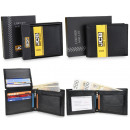 Elegant men's RFID leather wallet JCB JCB51