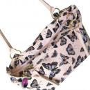 Shoulder bag A4 Butterflies CB189