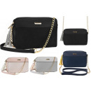 wholesale Bags & Travel accessories: Beautiful handbag with chain shoulder suede hit