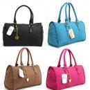 wholesale Handbags: FB14 Women's Handbag Trunk A4 Free Keychain