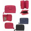 mayorista Maletas y articulos de viaje: Bonita cartera monedero mujer colores PS121.