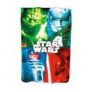 mayorista Ropa de cama y Mantas: Manta infantil Star Wars Disney
