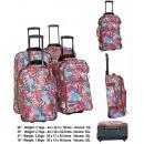 wholesale Suitcases & Trolleys: Set of 4 TB10099 Amazon Travel Suitcases