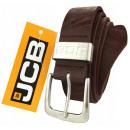 wholesale Belts: Thick brown leather belt JCB1