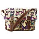 ingrosso Borse & Viaggi: Borsa delle donne  Tote Bags farfalle glitter A4
