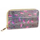 Großhandel Taschen & Reiseartikel: Damenbrieftasche Flamingos PFM15 Modische Damenbri