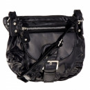Damenhandtasche schwarz lackiert A11 **