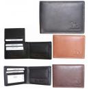 Férfi pénztárca természetes bőr RFID NC40 védelemm