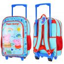 Großhandel Koffer & Trolleys: Rucksack-Koffer für Kind zum Schulgepäck peppa